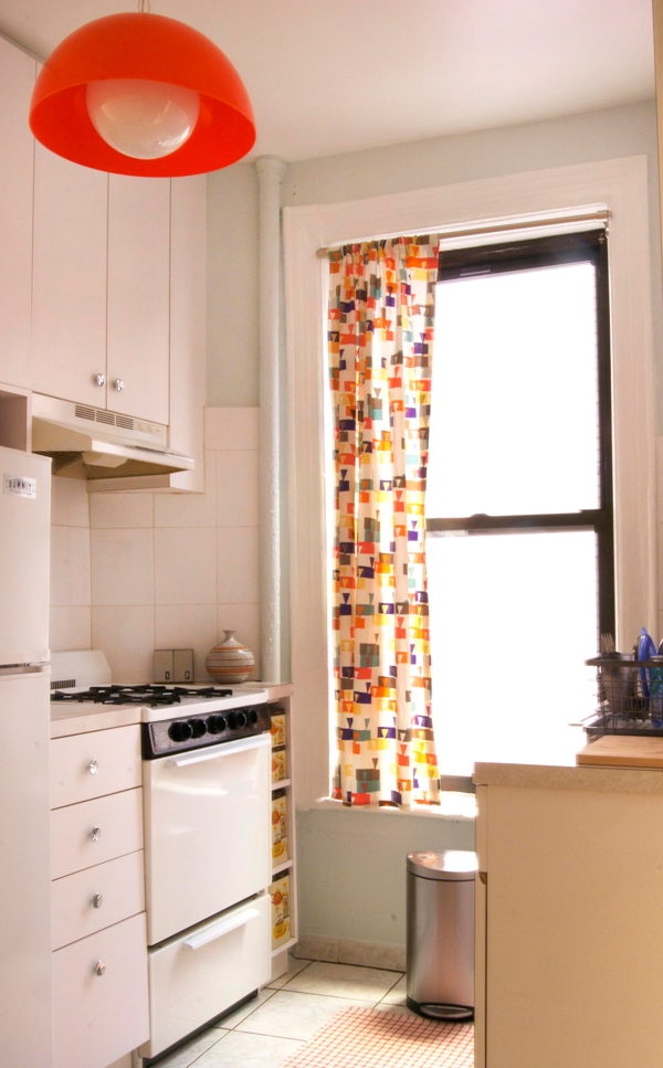 Curtains Ideas 24 Inch Shower Curtain Rod : Make Your Own Dish Towel  Kitchen Curtains