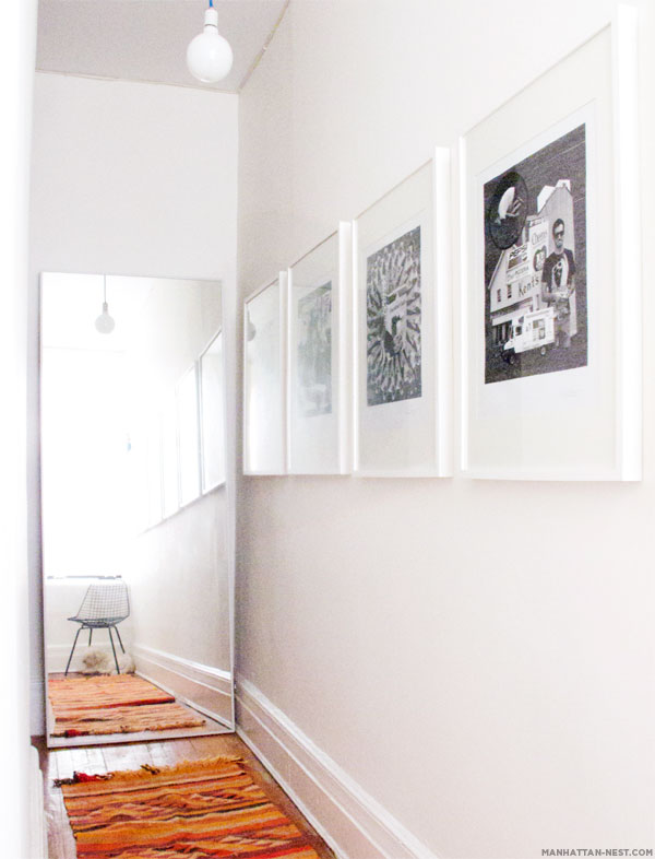 IKEA Mirrors Hacks To Try Shelterness  Looking  Hallway Part 2  Manhattan Nest. Hovet Mirror Hack