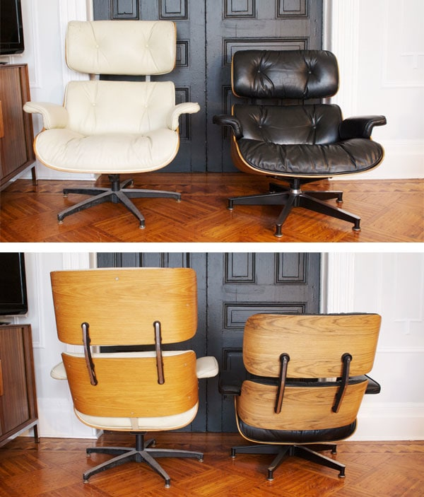 Eames Lounge Stoel Replica.Real Vs Fake The Eames Lounge Manhattan Nest