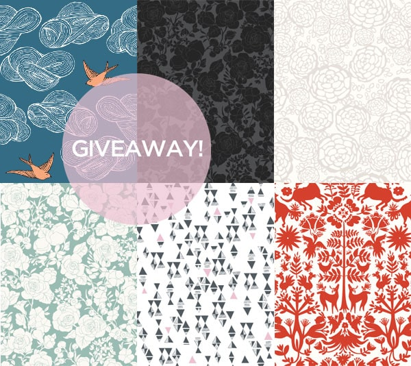 Removable Wallpaper Tiles giveaway: removable wallpaper from hygge & west! | manhattan nest