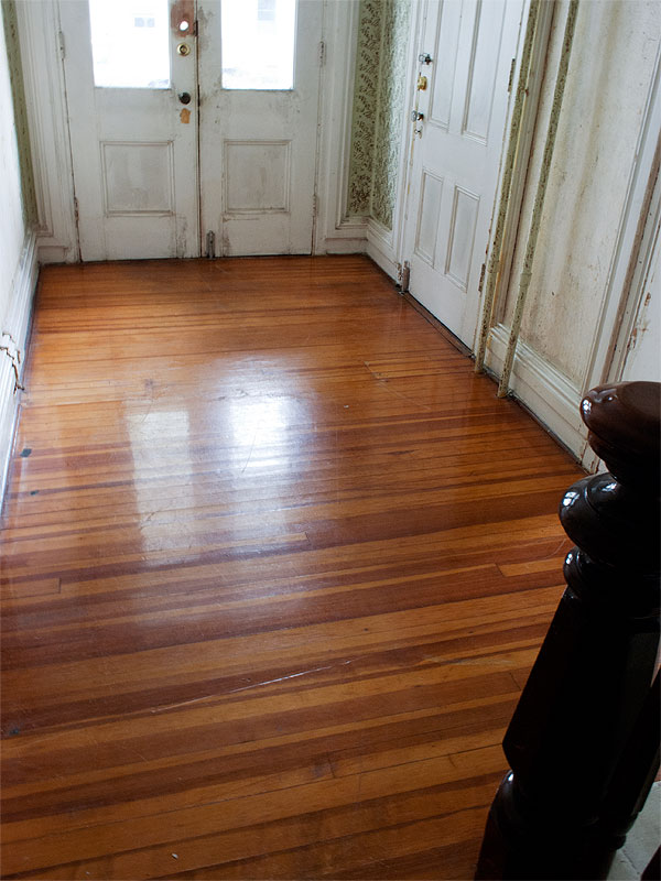 Foyer Hardwood Floors : Foyer manhattan nest