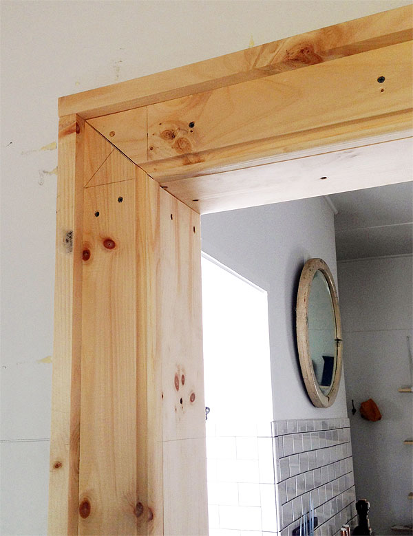 Millwork manhattan nest for Room door frame