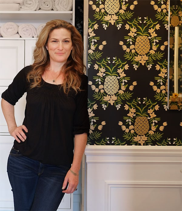 Manhattan Nest | Ana Gasteyer's Bathroom Makeover