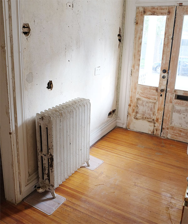 radiator-in-entry