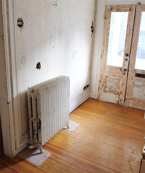 radiator-in-entry