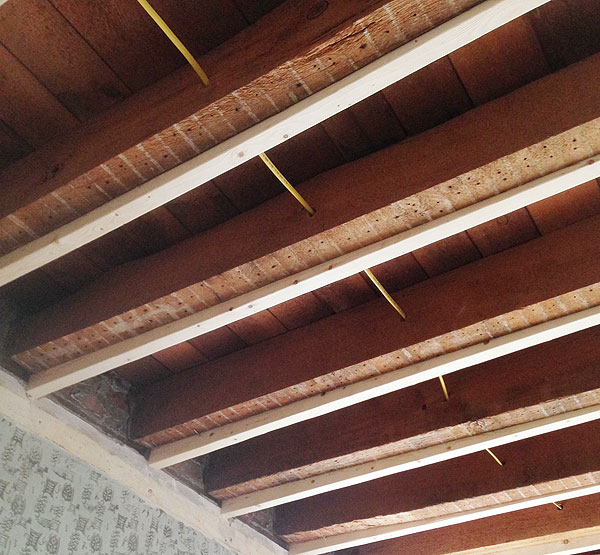 How To Level A Ceiling With Furring Strips How To Level A