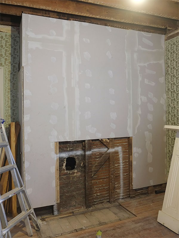 drywalled
