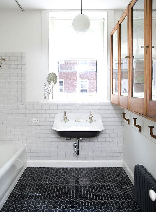 Kohler Brockway Sink In The Cottage Bathroom Manhattan Nest