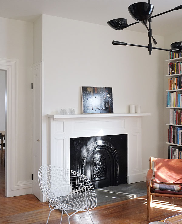 ChimneywallafterThe Renovated Living Room    Manhattan Nest. Living Room Chimney Removal. Home Design Ideas