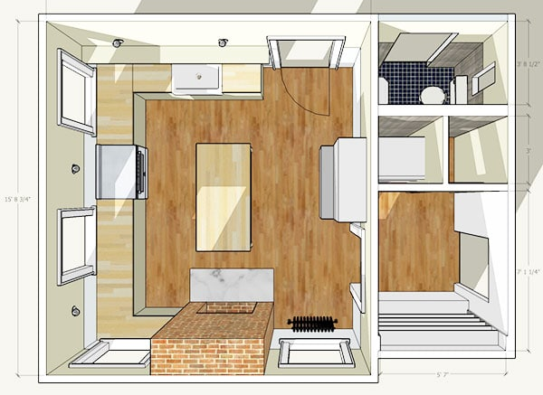 revised kitchen plans butler s pantry vibes manhattan nest