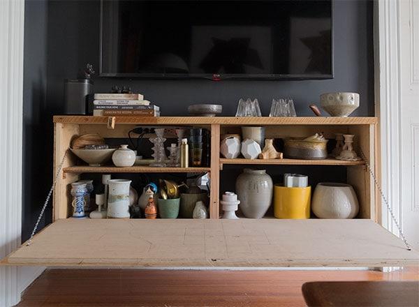Smoked oak shelves Bolia | Shelf decor bedroom, Decor, Diy