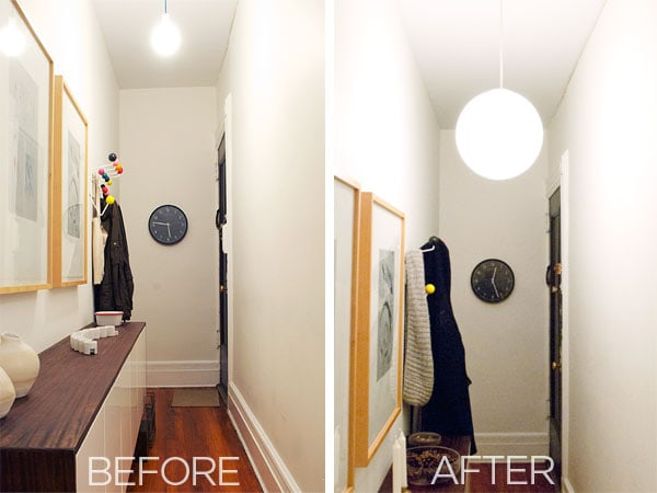 garage into apartment ideas - New Hallway Light