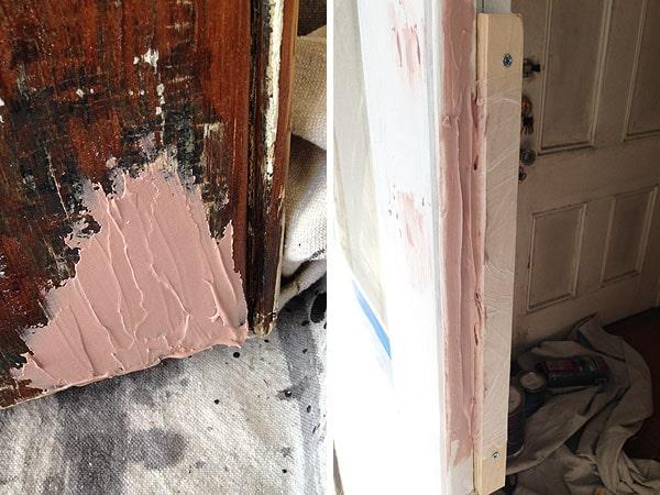 Bondo Exterior Wood Repair. best wood filler for exterior